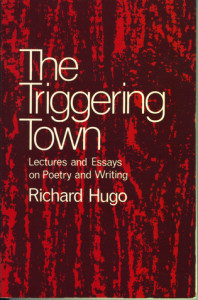 Richard Hugo's amazing book.
