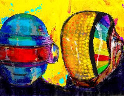 Daft Punk by Archan Nair